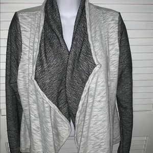 Guess Size M Jacket, heathered gray/charcoal/black